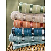 stripe towels, bath towels, bamboo towel, hand towels, wash cloth, beach towels, about towels, how towels are made, types of yarn, cotton yarn, bamboo yarn low twist towels, hygro towels, carded cotton, combed cotton, egytpain cotton, Pima cotton, Supima cotton